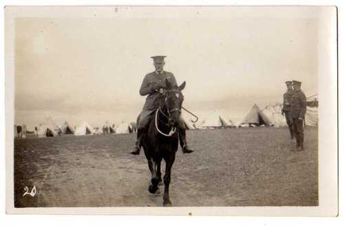 Officer at Knockaloe Territorial Camp ©Knockaloe Archive
