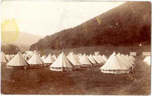 Territorial Tents at Knockaloe © Knockaloe Archive