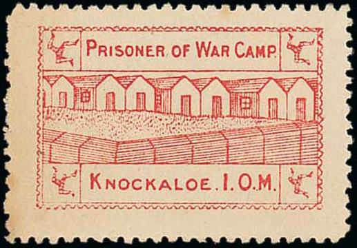 Knockaloe Camp Stamp
