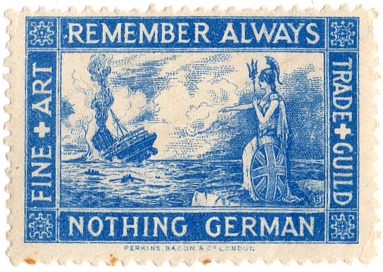 World War I Propaganda Stamp