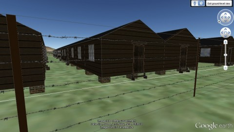 Screenshot of Knockaloe Camp 2 Model